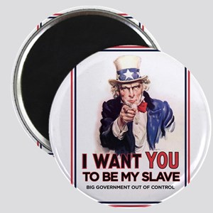 Uncle Sam - I want you slave Magnet